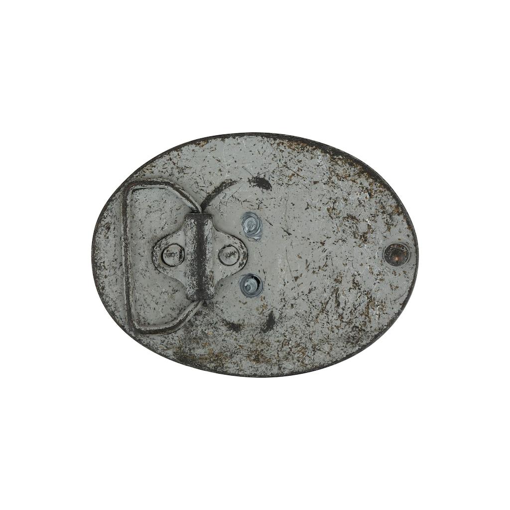 RETTUNGSRING by showroom 019° Gürtelschnalle »Stier«, mit filigranen Verzierungen