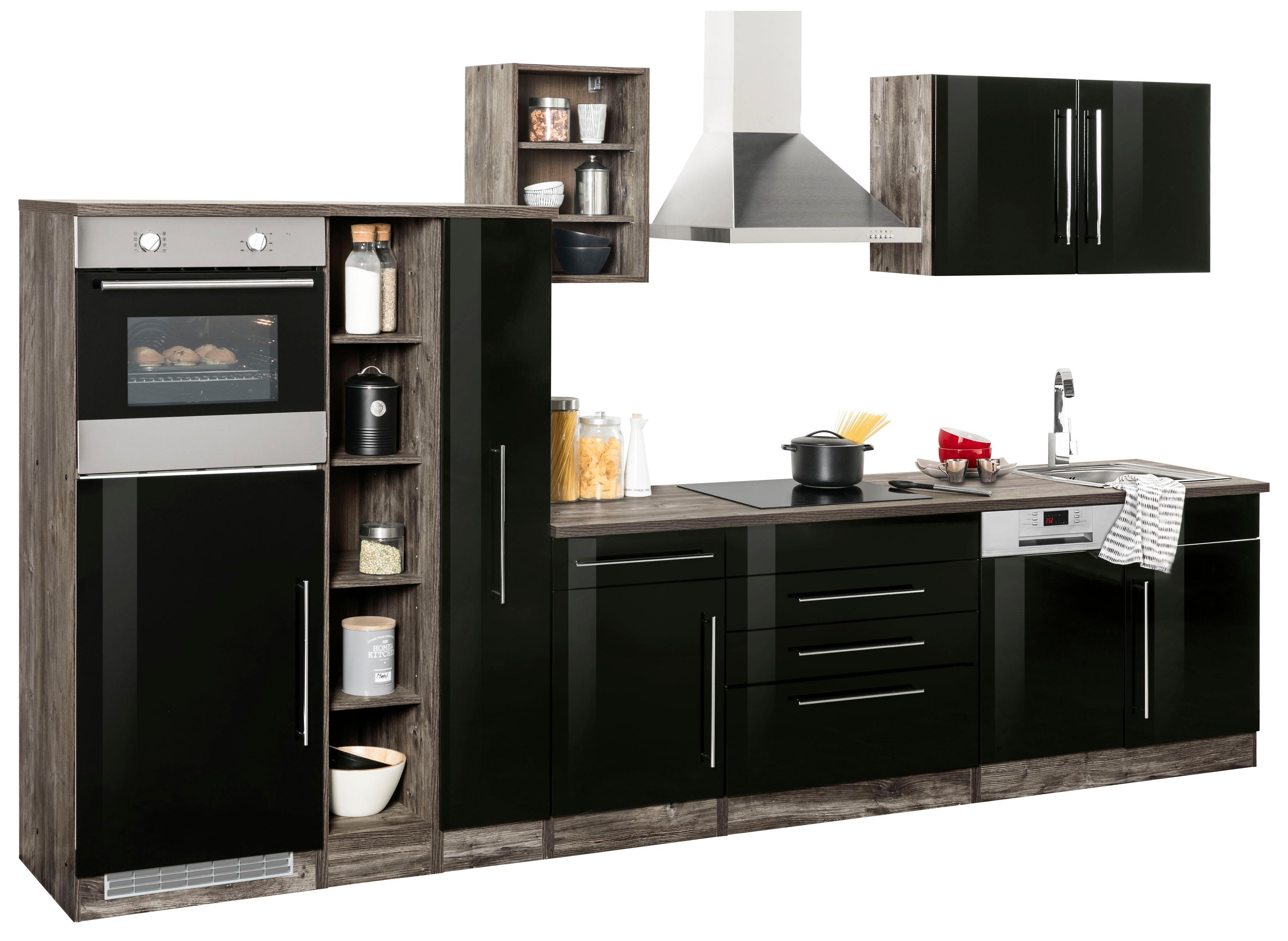 held m bel k chenzeile samos auf rechnung bestellen baur. Black Bedroom Furniture Sets. Home Design Ideas