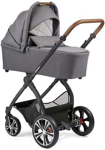 Gesslein Kombi-Kinderwagen »FX4 Classic, schwarz/tabak mit Wanne CX3, grau... kaufen