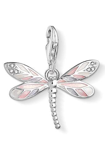 THOMAS SABO Charm-Einhänger »Libelle, 1516-041-9«, mit Zirkonia und Emaille kaufen