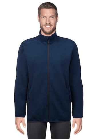 WHISTLER Fleecejacke »Pareman M Melange«, im sportlichen Wollstrick-Look kaufen