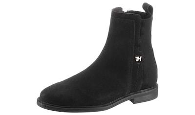 TOMMY HILFIGER Stiefelette »ESSENTIAL FLAT BOOT« kaufen