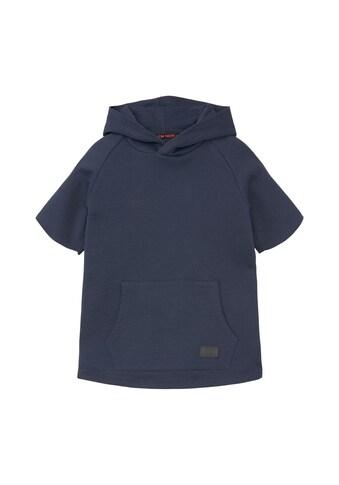 TOM TAILOR Longsweatshirt »Hoodie mit reflektierendem Tape« kaufen