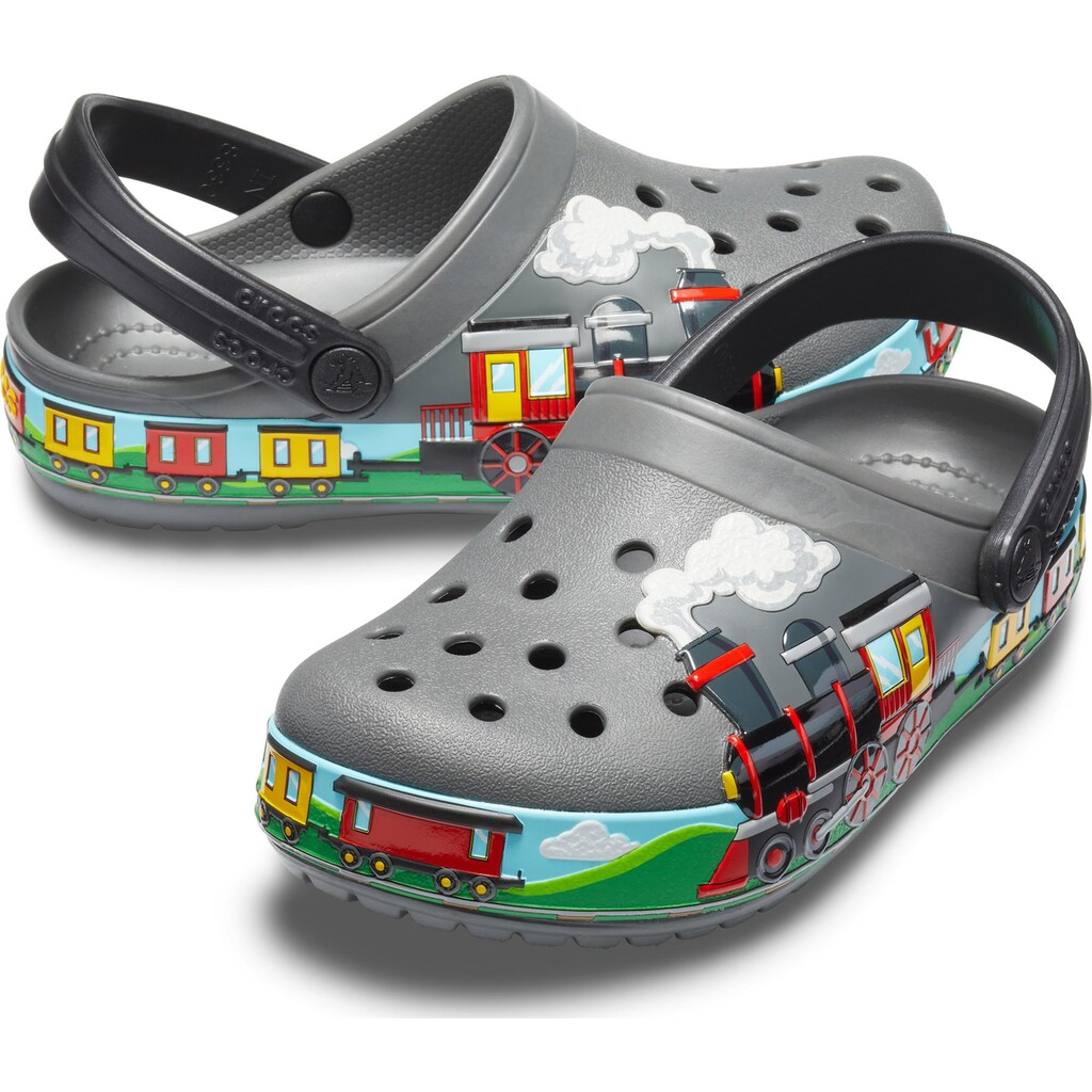 Crocs Clog »Crocs FL Train Band Clog K«, für Lokomotiv Fans
