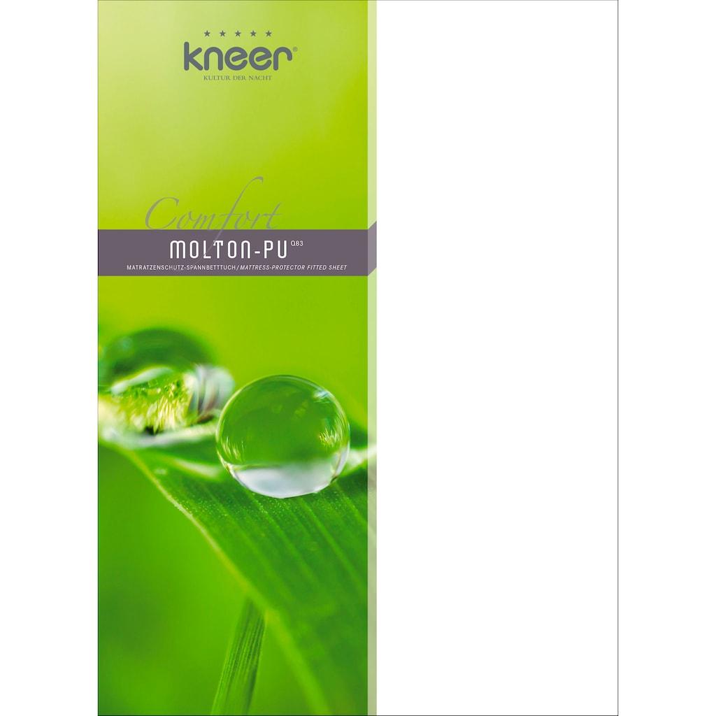 Kneer Matratzenschutzbezug »Comfort - Qualität 83«, wasserdicht & atmungsaktiv
