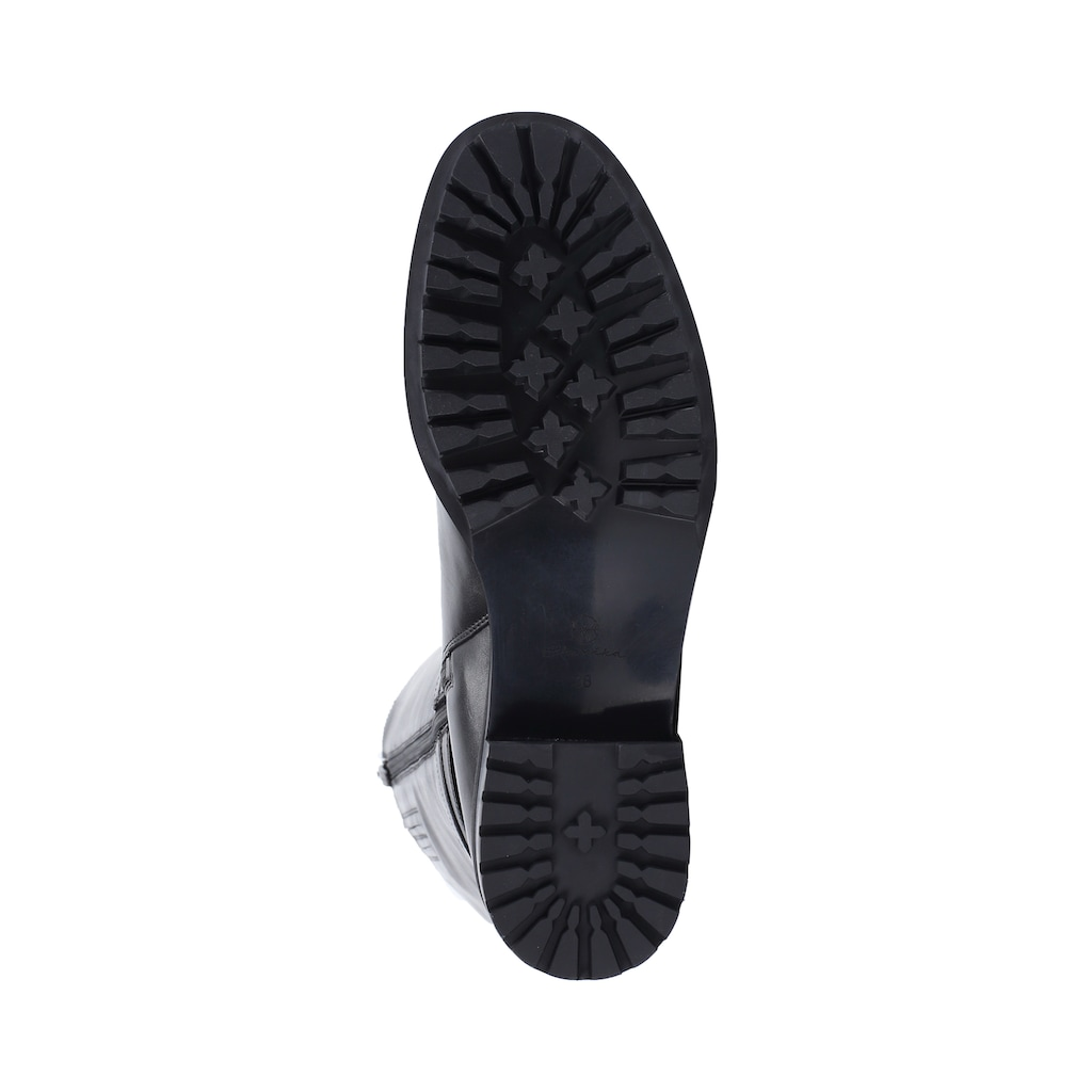 ekonika Stiefel, aus echtem Leder