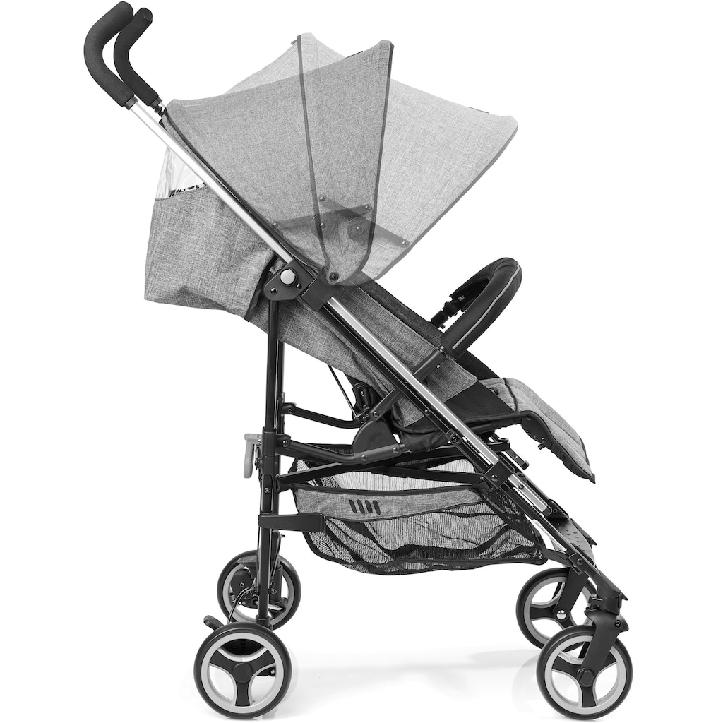 Gesslein Kinder-Buggy »S5 2+4, Petrol Meliert«, mit schwenkbaren Vorderrädern; Kinderwagen, Buggy, Sportwagen, Sportbuggy, Kinderbuggy, Sport-Kinderwagen