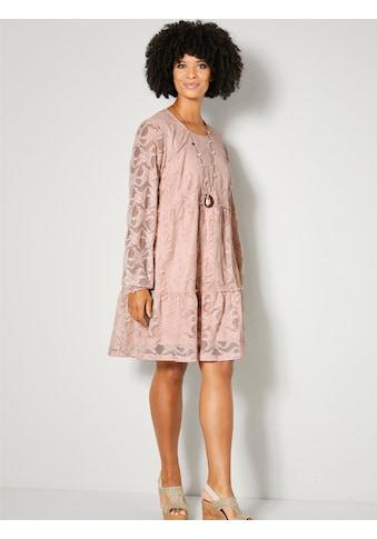 Angel of Style by HAPPYsize Spitzenkleid, mit Volants kaufen