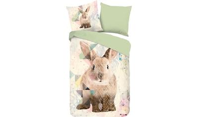 good morning Kinderbettwäsche »Coby«, mit Kaninchen kaufen