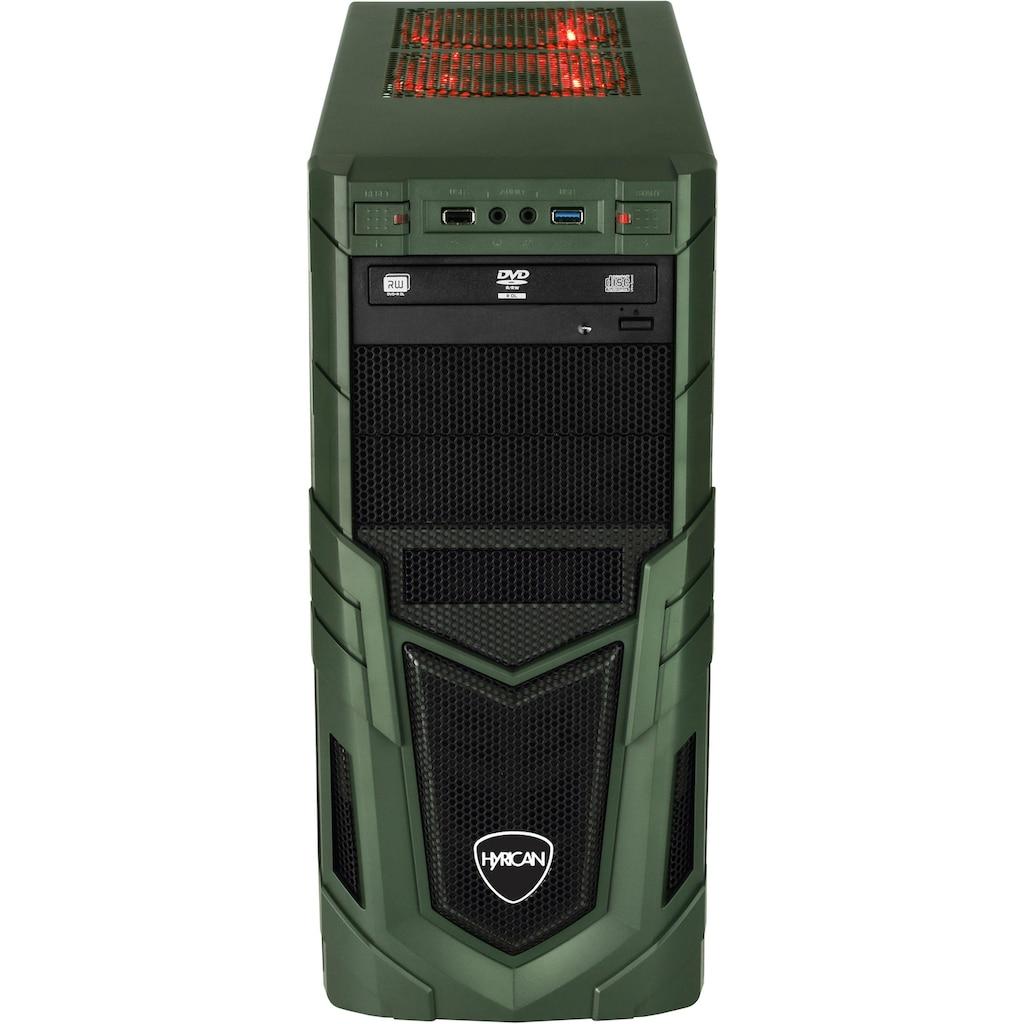 Hyrican PC-Komplettsystem »Military Gaming 6482 + Philips 243V7Q«