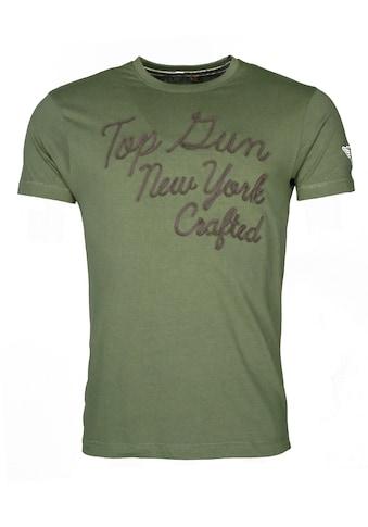 TOP GUN T-Shirt »New York«, sportlicher Schnitt kaufen