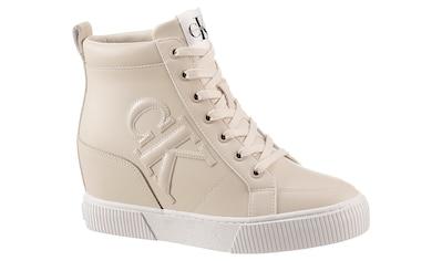 Calvin Klein Keilsneaker, mit gepolstertem Schaftrand kaufen