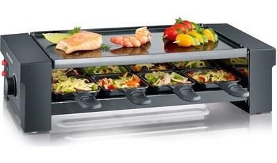 Severin Raclette RG 2687, 8 Raclettepfännchen, 1150 Watt kaufen
