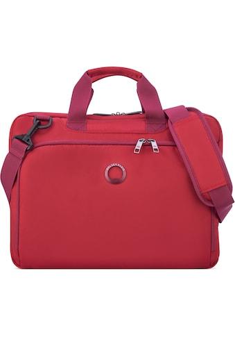 Delsey Businesstasche »Esplanade, 1 Fach, red«, mit 15,6-Zoll Laptopfach kaufen