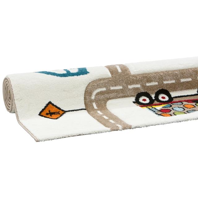 Kinderteppich, »Strassen«, Lüttenhütt, rechteckig, Höhe 13 mm, maschinell gewebt