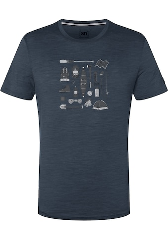 SUPER.NATURAL T - Shirt »M CAMPING GEAR TEE« kaufen