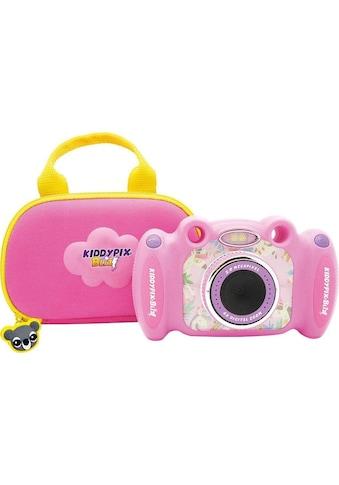 Easypix Kinderkamera »Kiddypix Blizz Pink«, vordere Linse für Fotos und Videos, hintere Linse für Selfies kaufen