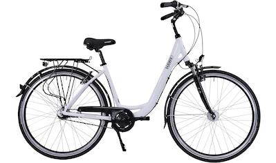 HAWK Bikes Cityrad »HAWK City Wave Deluxe White«, 7 Gang, Shimano, Nexus Schaltwerk kaufen