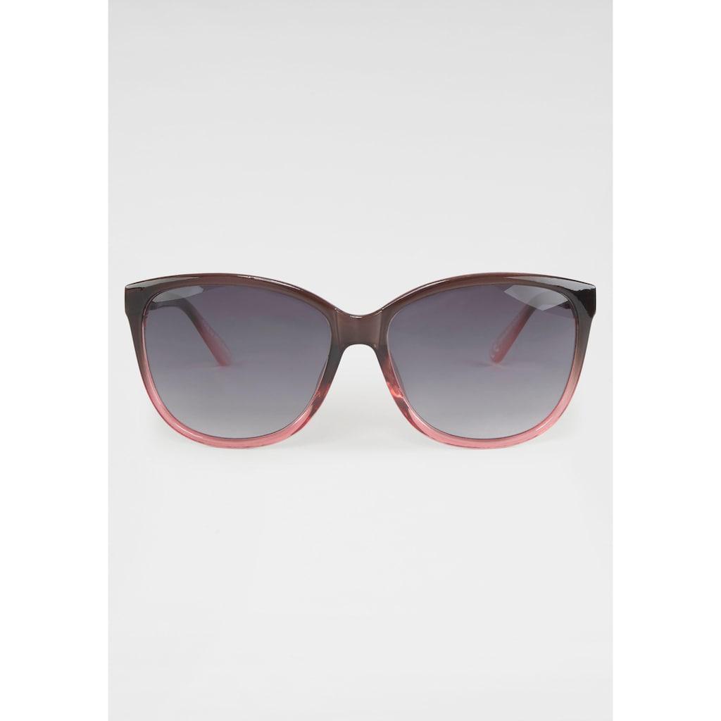 J.Jayz Sonnenbrille, Zweifarbig, Oversize-Form