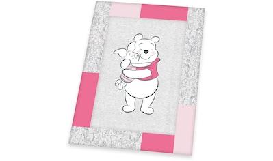 Herding Krabbeldecke »Disney`s Winnie Pooh, pink« kaufen