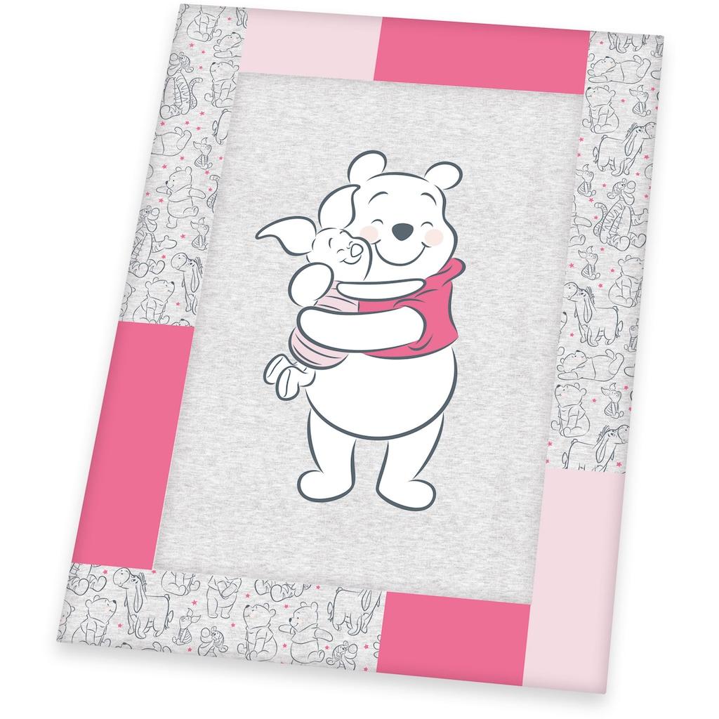 Herding Krabbeldecke »Disney`s Winnie Pooh, pink«