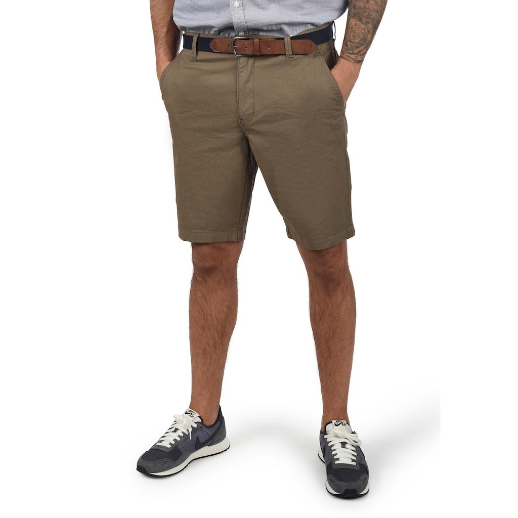 Blend Chinoshorts »Kearney«, (mit abnehmbarem Gürtel), kurze Hose im Chino-Stil mit Gürtel