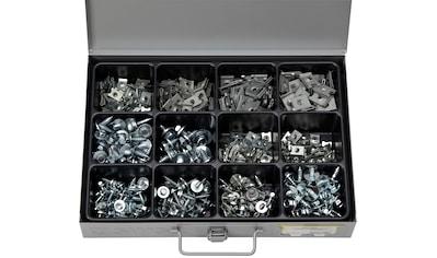 RAMSES Sortimentskasten , mit Blechschrauben, Scheiben und Blechmuttern, 470 Teile kaufen