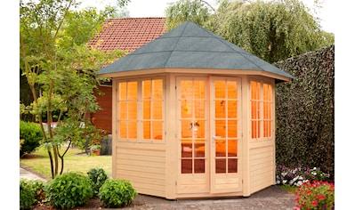 Wolff Holzpavillon »Palma«, (Set), BxT: 347x347 cm, mit Fußboden kaufen