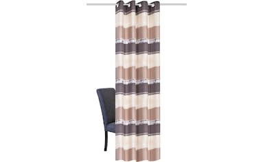 HOME WOHNIDEEN Vorhang »MATIKA«, Ikat Optik kaufen