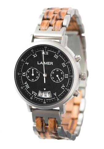 LAiMER Quarzuhr »Holzuhr Leon« kaufen