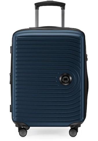 """Hauptstadtkoffer Hartschalen - Trolley """"Mitte, dunkelblau, 55 cm"""", 4 Rollen kaufen"""