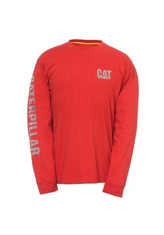 CATERPILLAR T - Shirt »Herren mit Logo, langärmlig« kaufen