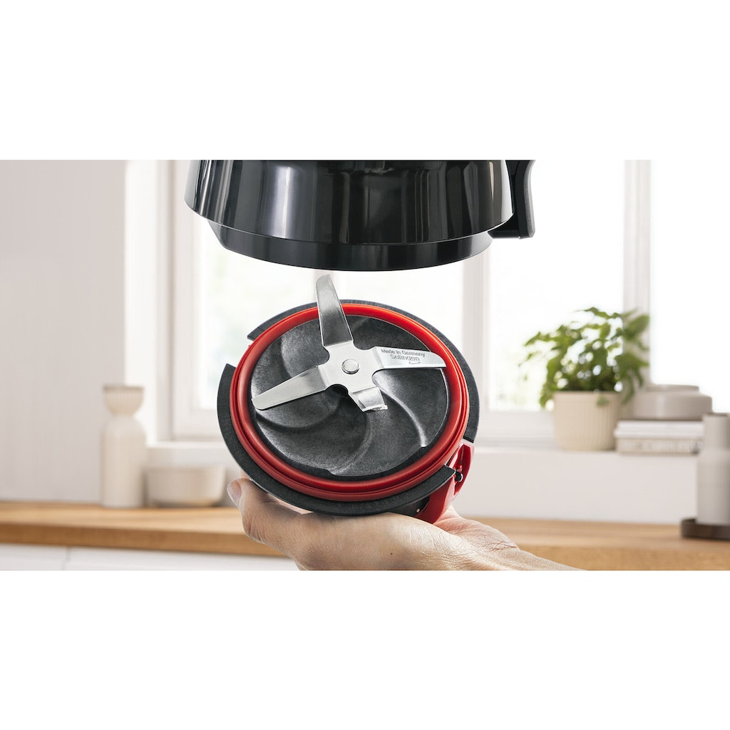 BOSCH Standmixer »MMB6382M VitaPower«, 1200 W, 30.000 U/Min, Sicherheitsdeckel und langlebiger ThermoSafe Glasbehälter