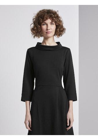 TOM TAILOR Minikleid »Kleid mit Rollkragen« kaufen