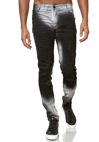 KINGZ Slim-fit-Jeans, im verwaschenen Look kaufen
