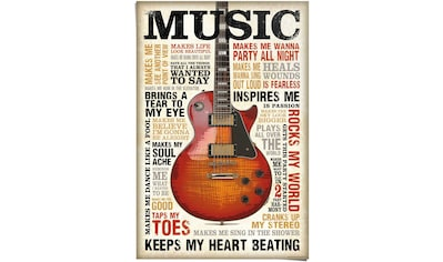 Reinders! Poster »Music is Passion«, (1 St.) kaufen