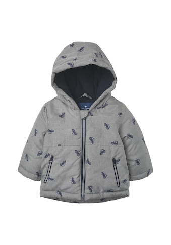 TOM TAILOR Winterjacke »Gemusterte Jacke mit Kapuze« kaufen
