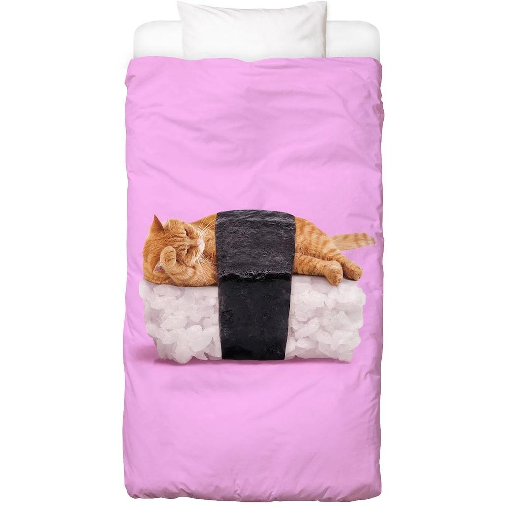 Bettwäsche »Sushi Cat«, Juniqe