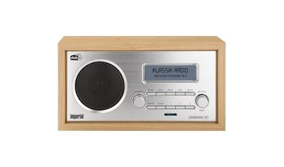 IMPERIAL Digitalradio für DAB+/DAB/UKW - Empfang (Retro; Aux in) »DABMAN 30« kaufen