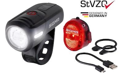 SIGMA SPORT Rücklicht »AURA 45 USB / NUGGET II K - Set« (2 - tlg.) kaufen