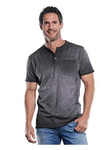 Engbers Lässiges Henley T-Shirt in außergewöhnlicher Optik kaufen