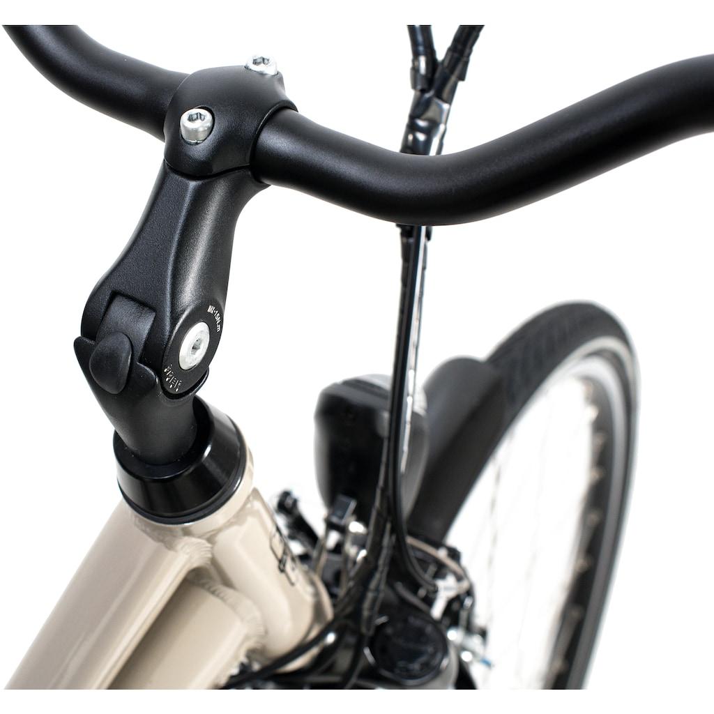 Adore E-Bike »Optima Deluxe«, 7 Gang, Shimano, Acera, Mittelmotor 250 W