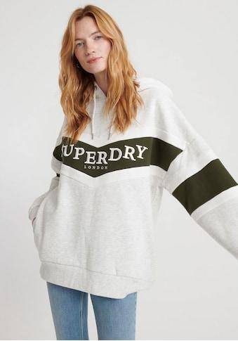 Superdry Kapuzensweatshirt »ROWAN CHEVRON HOOD« kaufen