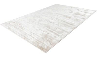calo-deluxe Teppich »Ivana 909«, rechteckig, 13 mm Höhe, Viskose, Wohnzimmer kaufen