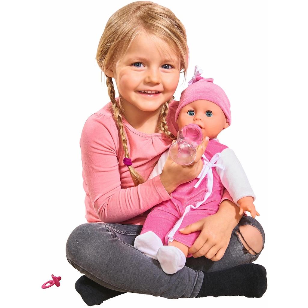 SIMBA Babypuppe »My Love, Laura Babysprache«, (3 tlg.), mit Schlafaugen