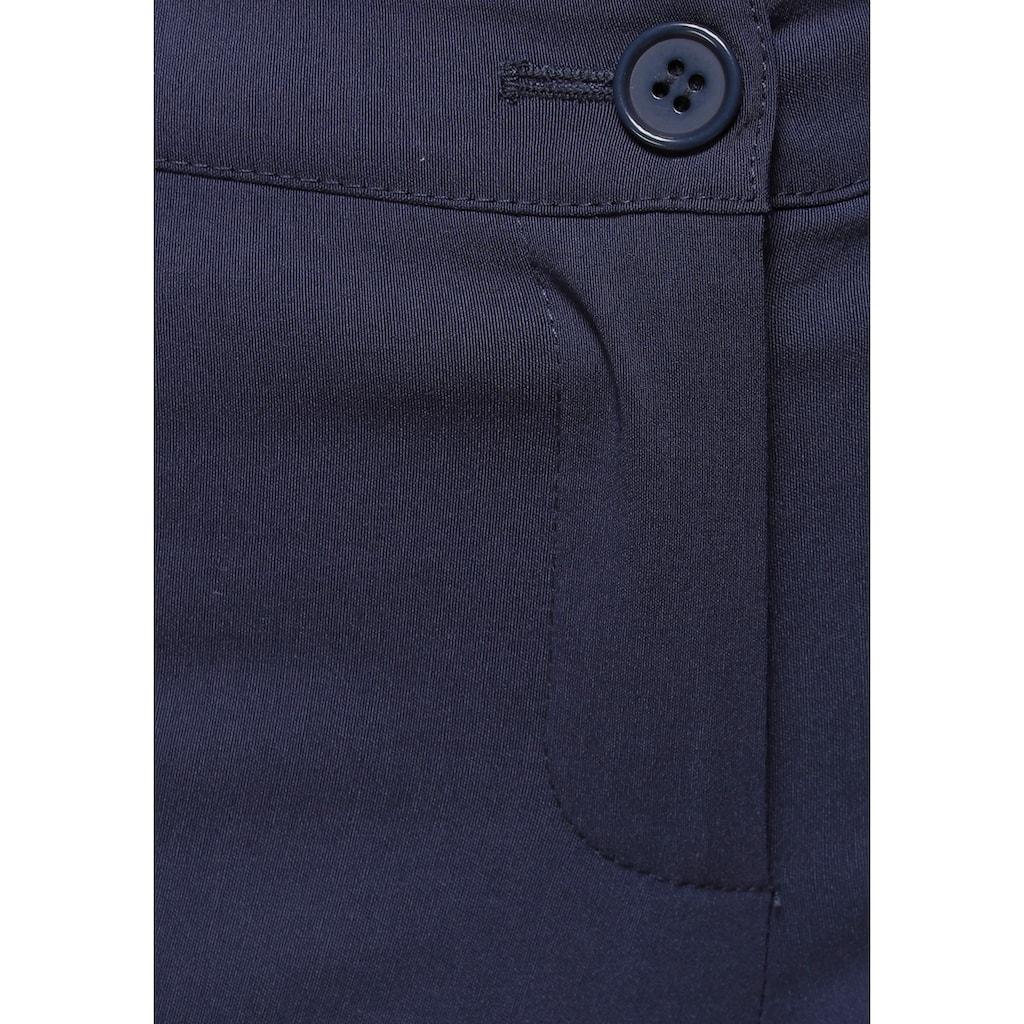 AJC Stretch-Hose, aus pflegeleichter Bengalin-Qualität in schmaler Form