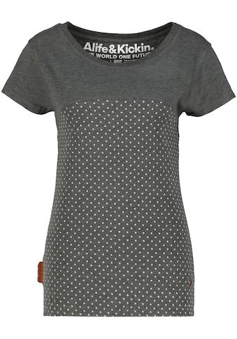 Alife & Kickin T-Shirt »ClariceAK«, süßes Shirt mit Minimalprint kaufen