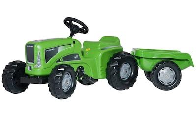 ROLLY TOYS Tretfahrzeug »Futura«, Traktor mit Trailer kaufen