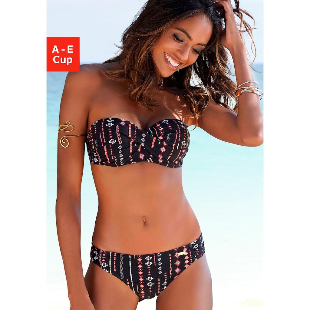 Buffalo Bügel-Bandeau-Bikini, mit abnehmbaren Trägern
