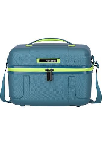 travelite Beautycase »Vector, Petrol/Limone« kaufen